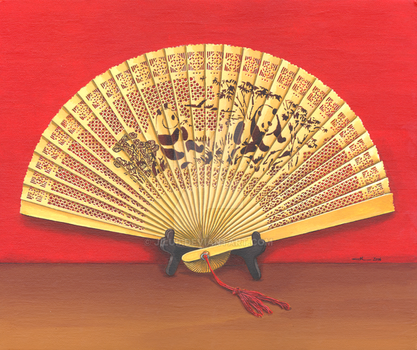 The Chinese fan by jilub