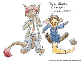 rhea wrong and buhshoe by bugbyte