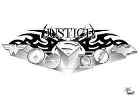 Justice Tattoo by StevenHoward