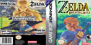 Zelda Breath Of Wild Game Boy Advance by LOrdalie