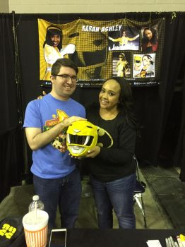 My first encounter with the Yellow Ranger by robertamaya
