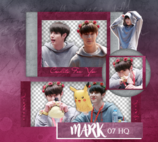 Mark PNG PACK  GOT7 by Upwishcolorssx