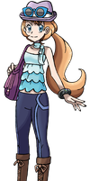 Own Trainer in Pokemon X Y Version by MelodyCrystel