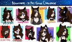 .: 10_art_style_challenge :. by UniverseOfNightmares