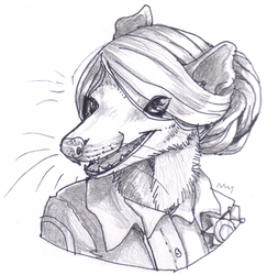 GO Commission: OT Oppossum by SadWhiteRaven