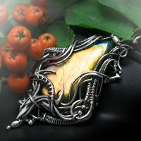 AEXEVILTH URHTAX Silver, Labradorite and Sunstone by LUNARIEEN