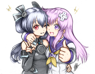 Colored Unigear comm by Men-Don't-Scream by Rosanon
