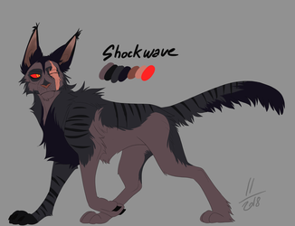 Shockwave : cat version by AvaronCave