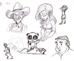 Another Sketchbook page by tombancroft
