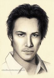 Keanu Reeves by Akadio