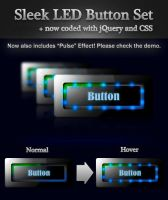 Sleek LED Button Set by kush-solitary