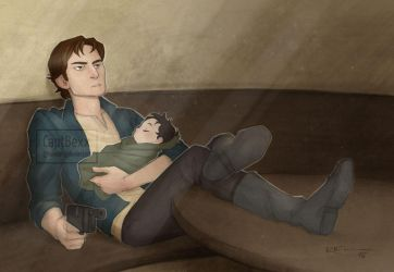 Han and Baby Ben by CaptBexx