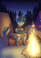 Camping - Commission by sbneko