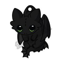 Baby Toothless by FluffyParcel