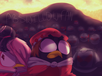 ~ART TRADE~ Jacob Inspecting His Troops by ABSWillowFan