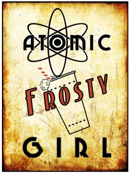 Atomic Frosty Girl Tee by inception8