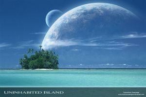 Uninhabited Island by MAXimumDesigner