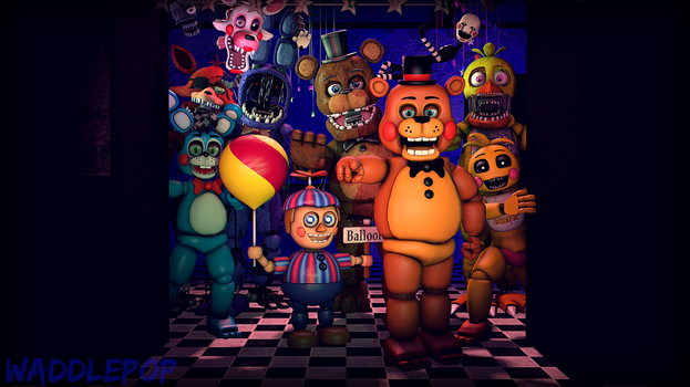 [SFM] Toy Terror by witheredfnaf