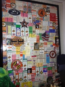 Orioles Tickets Collage by KneelB4Zod71