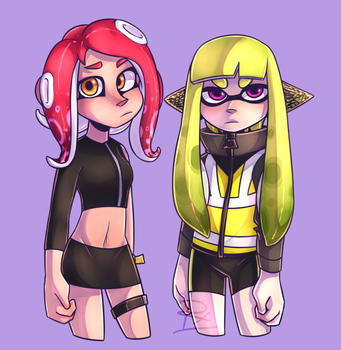 Agent 8 Is A Cutie by detergentt