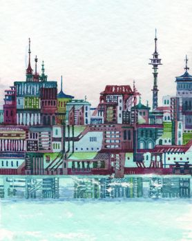 a city in the sea by nokkasili