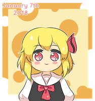 Rumia Day by Cyber-Meta