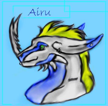 Airu For Silverpoot by Loneychan