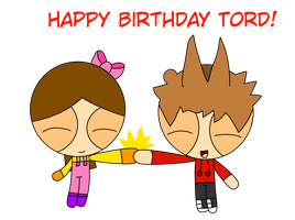 Happy Birthday Tord! by Flowergirl25341