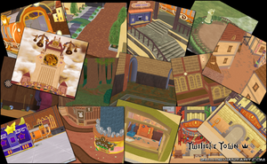 Zido's Twilight Town Pack DOWNLOAD by Reseliee