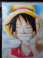 [Wanted Luffy] by Meroty
