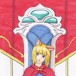 Ni No Kuni 2 Evan Media Test Part 1 Copic Marker by GiraffeMeow