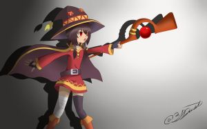 Megumin by 31Alexgh