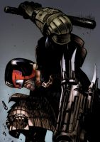 Judge Dredd by bumhand