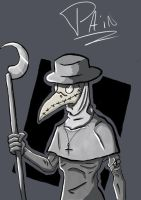 Plague Doctor by Painxscreams