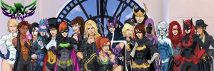 [Earth-27 Rosters] The Birds of Prey by Roysovitch