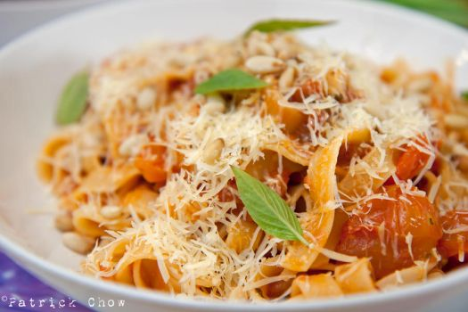 Mostly vegetarian pasta by patchow