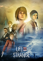 Life Is Strange Cinematic Poster by nicefieldSFM