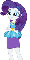 Rarity - EQG Shorts by seahawk270