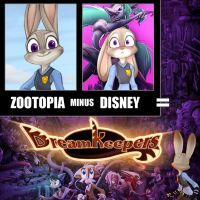 Zootopia Minus Disney by Dreamkeepers