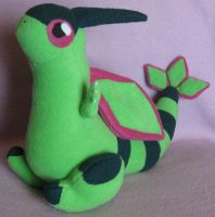 Flygon Plush by AmberTDD
