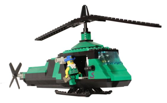 I Love the Smell of Lego in the Mornin by b-spoke