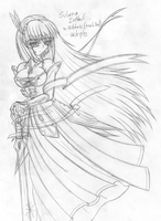 Silveria Irthali Sketch by Fatelogic