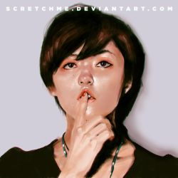 nina endo, photo study by scretchme