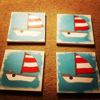 Baby Shower Sailboat Project  by grammabeth