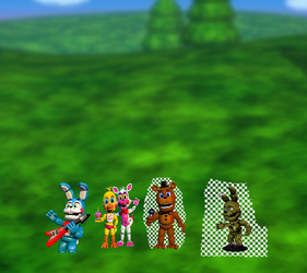 Fnaf World by amanda12374