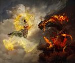 Protecting My Heavens - Demigod Level (3/3) by ParadisiacPicture