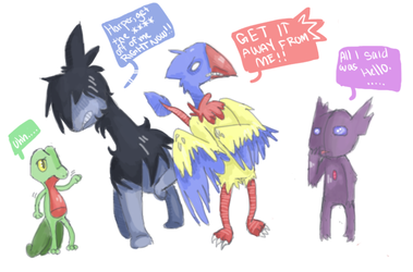 Practicing other teams by RascalWabbit