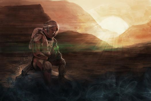 The Martian by jasric