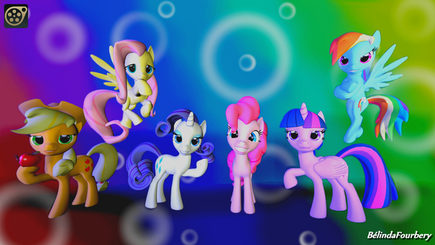 [SFM] My Little Pony - Wallpaper by BelindaFourbery