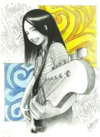 guitar girl by autumncry